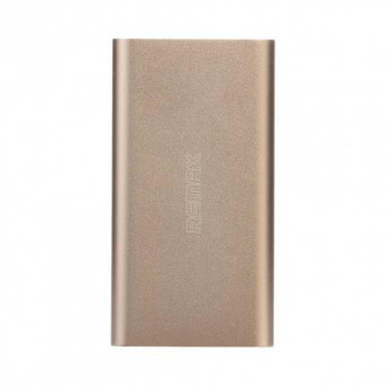 Портативная батарея 10000 mAh gold Vanguard Remax 200163, фото 2