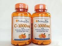 Витамины Puritan's Pride Vitamin C-1000 mg with Bioflavonoids & Rose Hips 100 caps
