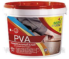 Клей строительный универсальный PVA НаноФарб (NanoFarb)10 кг