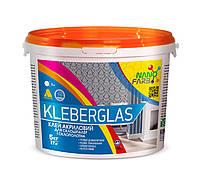 Клей акриловый Kleberglas для стеклообоев и стеклохолста НаноФарб (NanoFarb) 5кг