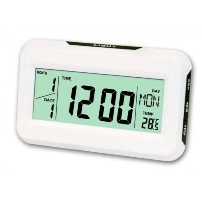 Настольные часы Kenko Kk-2616 с подсветкой, white
