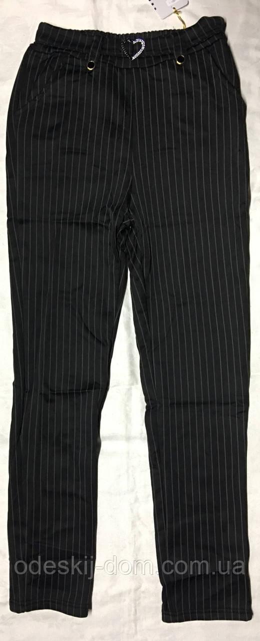Женские брюки на меху с отделкой™ Шугуан