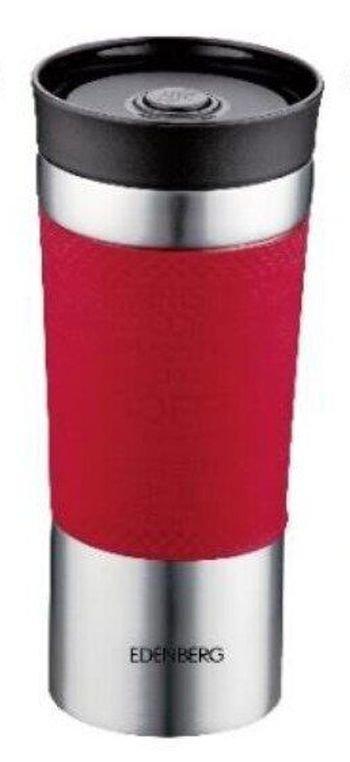 Термокружка пляшка термос Edenberg Eb-633, red вставка