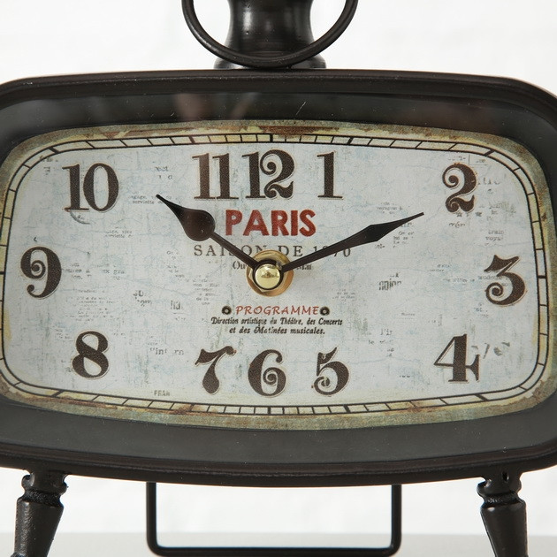 Настольные часы Calisto металл h19см (1xAA 1.5V) 1018094 1018094 1018094
