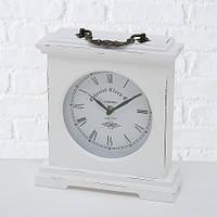 Часы Бетти МДФ состаренные белый h24 L21см Гранд Презент 5231600
