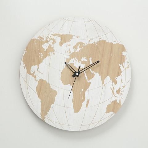 Настенные часы Карта мира МДФ d39см 1018120 1018120 1018120