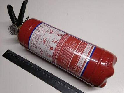 Огнетушитель порошковый ОП-1, с ман.