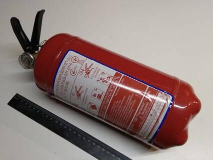 Огнетушитель порошковый ОП-2, с манометром