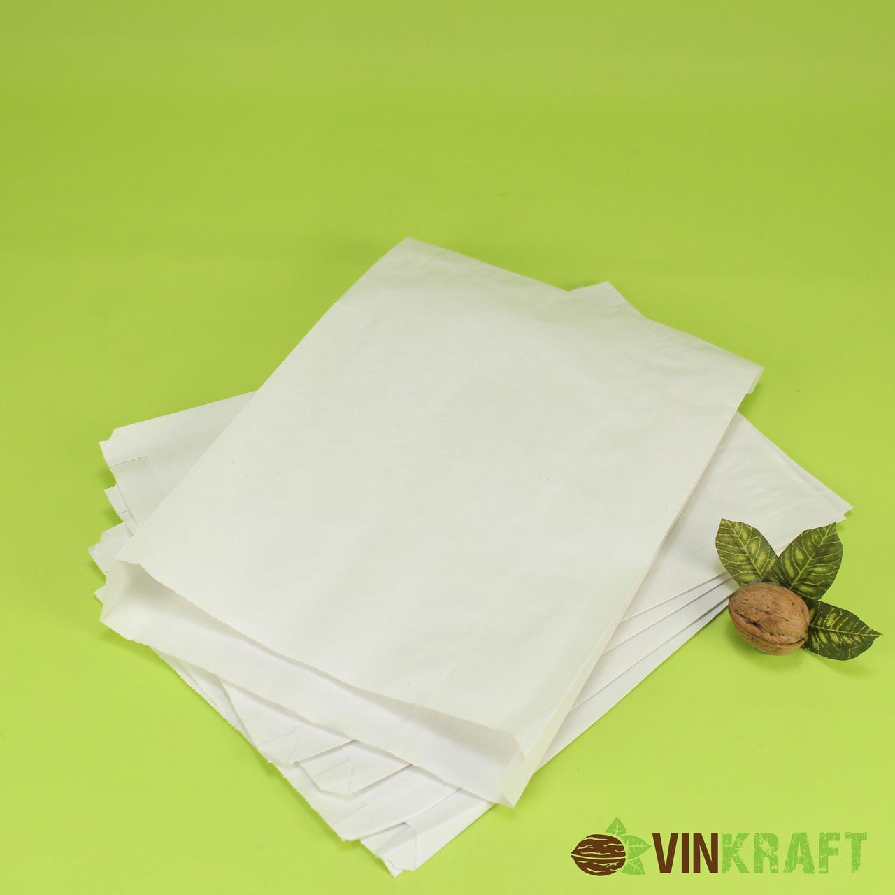 Паперовий пакет 200*40*230 (40 г/м2) білий