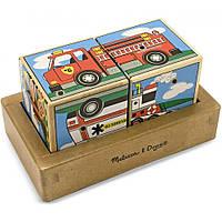 Звуковые кубики Машинки Melissa & Doug (MD1272)