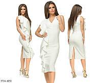 Легкое летнее платье Распродажа (р. 42-46) 5716 АРЛ