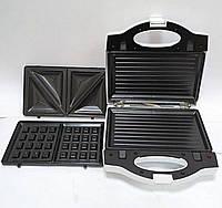 Сэндвичница Гриль Вафельница 3 в 1 Wimpex WX - 1057 750W
