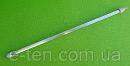 Лампа стеклянная Ø10мм / Lстекла=615мм со спиралью 1000W для кварцевых инфракрасных обогревателей  Турция