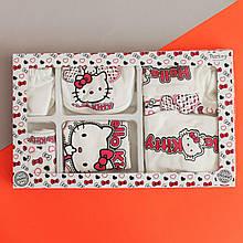 26497-2 Одежда на выписку Kitty для новорожденного 7 предметов