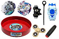 Подарочный набор BEYBLADE Luinor + Killer Doomscizor + Mokuru + Spinner (JJSP49948)
