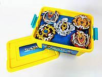 Подарочный набор Beyblade Box 5 блейдов Разноцветный (qxXs90491)