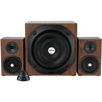 Комп.акустика trust vigor 2.1 subwoofer speaker set - brown