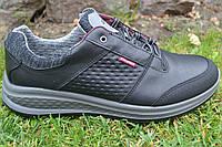 Полуботинки (кроссовки) мужские Grisport итальянские 43505 a13 чер., фото 1