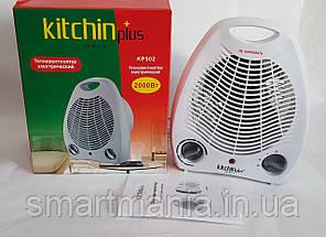 Обогреватель (тепловентилятор) Kitchin Plus KP-502  Дуйка 2000Вт