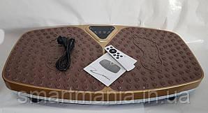 Вібраційна платформа 5 програм 99 швидкостей з Bluetooth 200W Vibro body Shaper