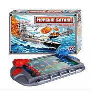 1110 Детская настольная игра Морской бой ТехноК