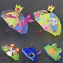 23354 Детский зонт диаметр 60 см в ассортименте