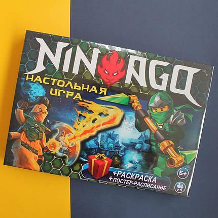 86 Игра настольная большая Ниндзяго производитель STRATEG, фото 2