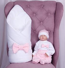 Зимний набор для выписки новорожденных Classic Girl, 5 предметов