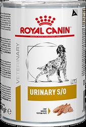 Консервований корм Royal Canin Urinary Роял Канін Урінарі дієта для собак МКБ 410 г