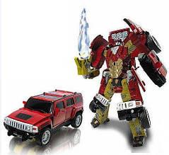 52030 Робот Трансформер Джип ROAD BOT, светится коробка