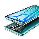 TPU чехол Epic Transparent 1,0mm для Xiaomi Redmi Note 8 Pro, фото 3