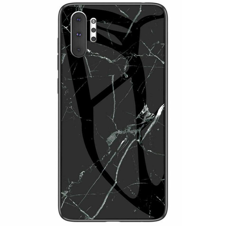 TPU+Glass чехол Luxury Marble для Samsung Galaxy Note 10 Plus