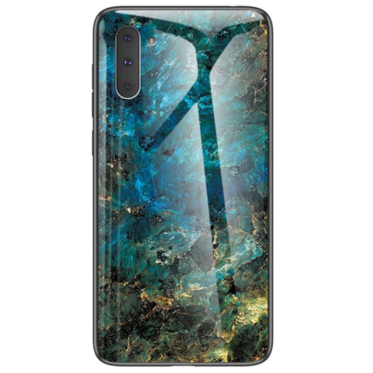 TPU+Glass чехол Luxury Marble для Samsung Galaxy Note 10