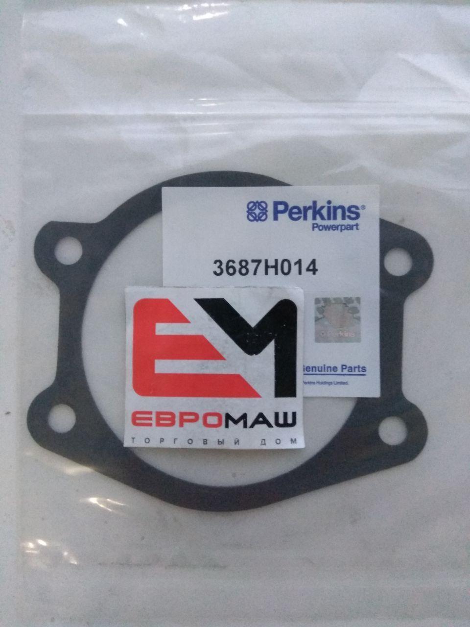 3687H014 Прокладка помпы двигателя Perkins CR81281