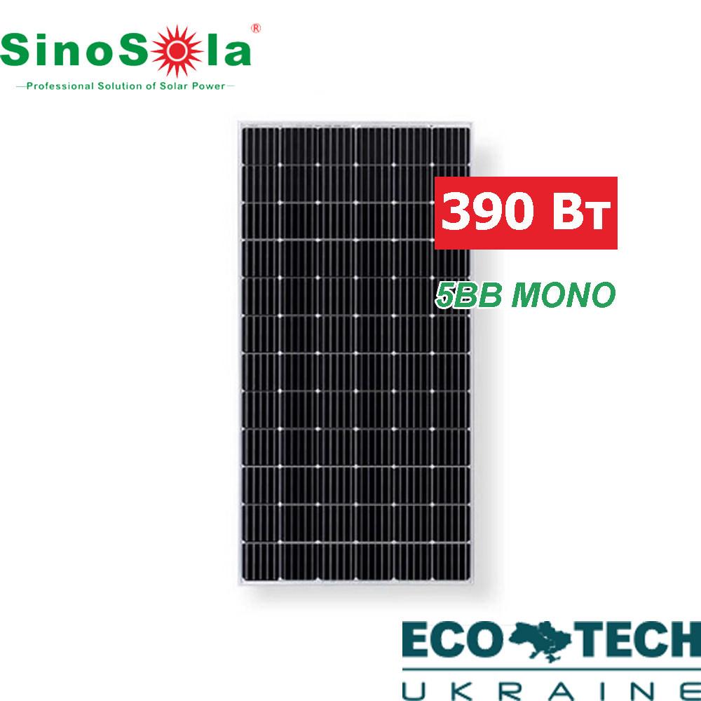 Солнечная батарея SinoSola SA390-72M, монокристаллическая, 390 Вт