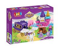 """Конструктор JDLT 5282 (Аналог Lego Duplo) """"Замок принцессы"""" 55 деталей"""