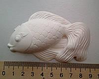 Гипсовая фигурка заготовка для раскрашивания. Гіпсова фігурка для розмальовування. Золотая рыбка