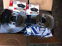 Передние тормозные колодки Tuareg 3.0-6.0 02-, Porsche Cayene 02-, диски R17 Ferodo FDB1625