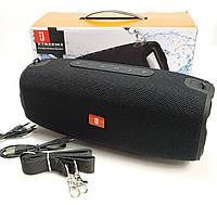 Портативная bluetooth колонка блютуз акустика для телефона с флешкой повербанк черный X7reem3