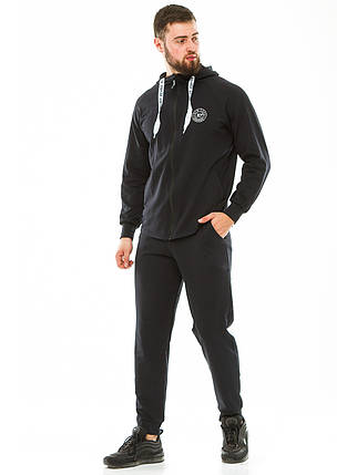 Мужской спортивный костюм 702 темно-синий, фото 2