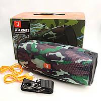 Портативная bluetooth колонка блютуз акустика для телефона с флешкой повербанк 10000 камуфляж Xtreme 2