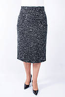 Женская теплая юбка Тамила черная