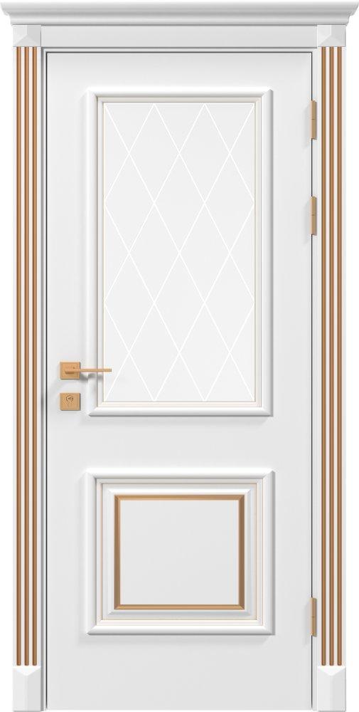 Дверь межкомнатная Rodos Siena Laura ПО