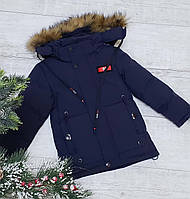 Зимняя куртка 6823 на 100% холлофайбере размеры от 98см до 104 см рост, фото 1