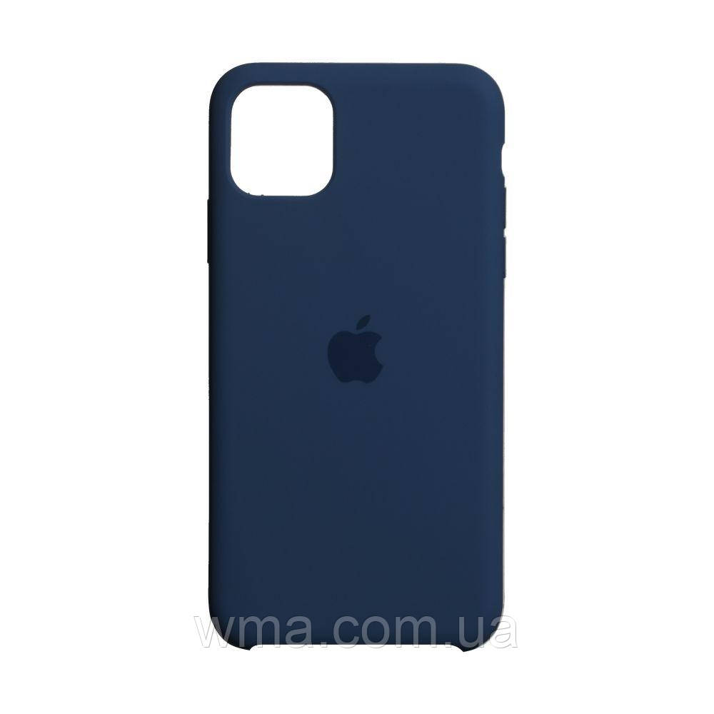 Чехол для телефонов (Смартвонов) Силикон Original Iphone 11 Pro Max Цвет Midnight Blue