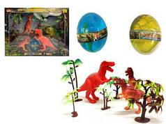 """Игровой набор """"Парк динозавров"""" + 2 лизуна в яйце"""