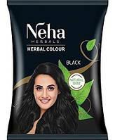 Хна-фарба для волосся NEHA HENNA (Неха Хена) 20г чорна виробництва Індії