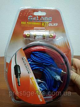 Набор проводов для подключения усилителя/сабвуфера до 100 Вт. GLX9.