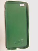 Силиконовый чехол-накладка Husky для iPhone 6G изумруд, фото 1
