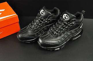 Ботинки Nike Air Max 95 арт 20677 (зимние, мужские, черные), фото 3